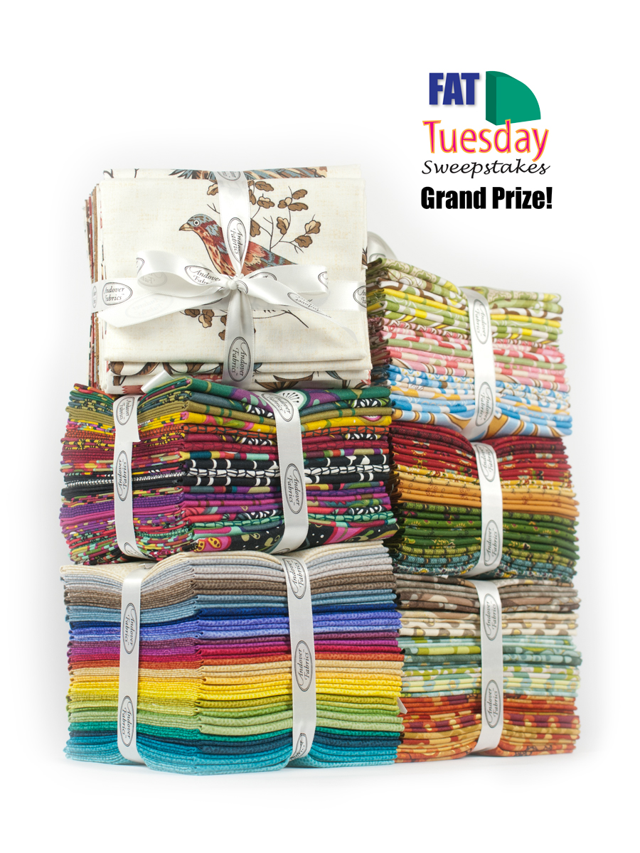 Picture of Fat Quarter Tuesday Sweepstakes Grand Prize