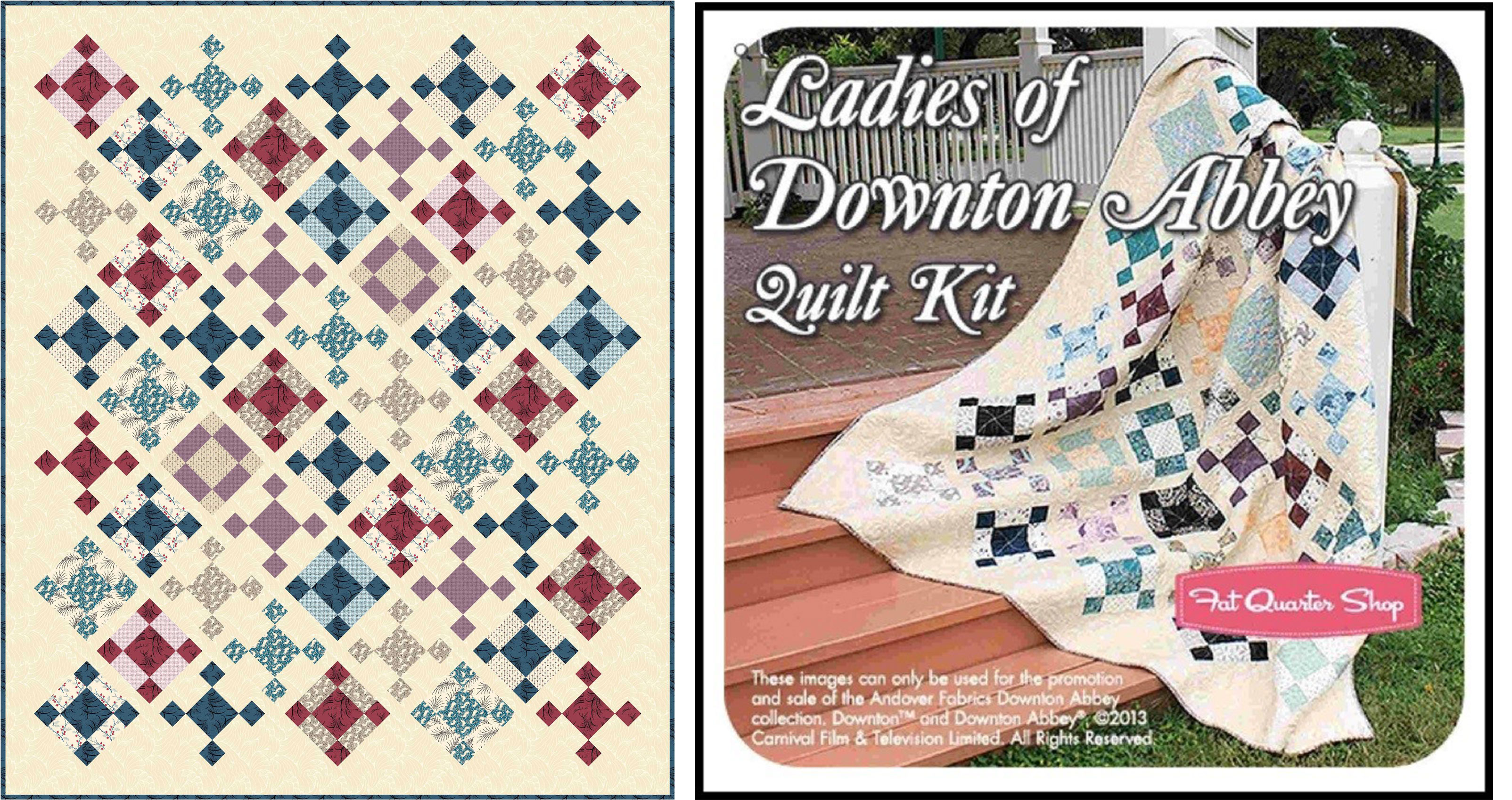 The Designing Of A Downton Abbey Quilt A Guest Post By Tiffany