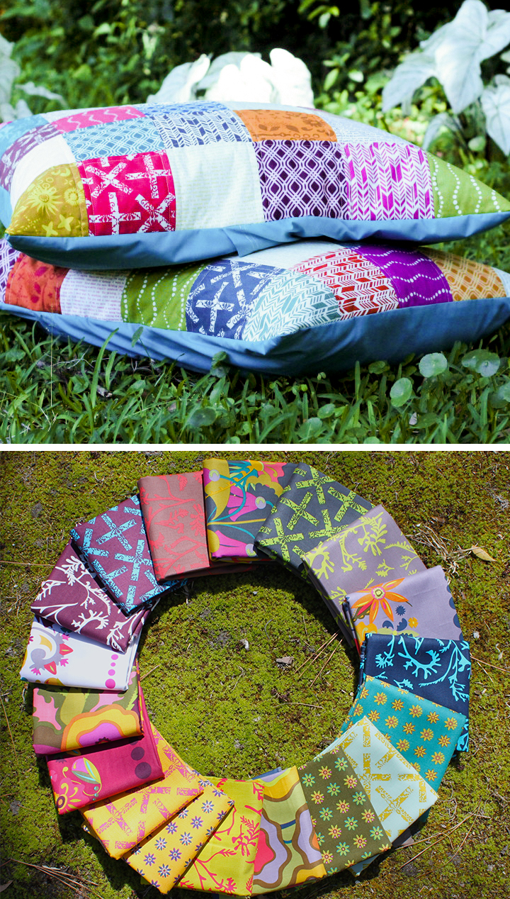 Patchwork Shams Field Day giveaway