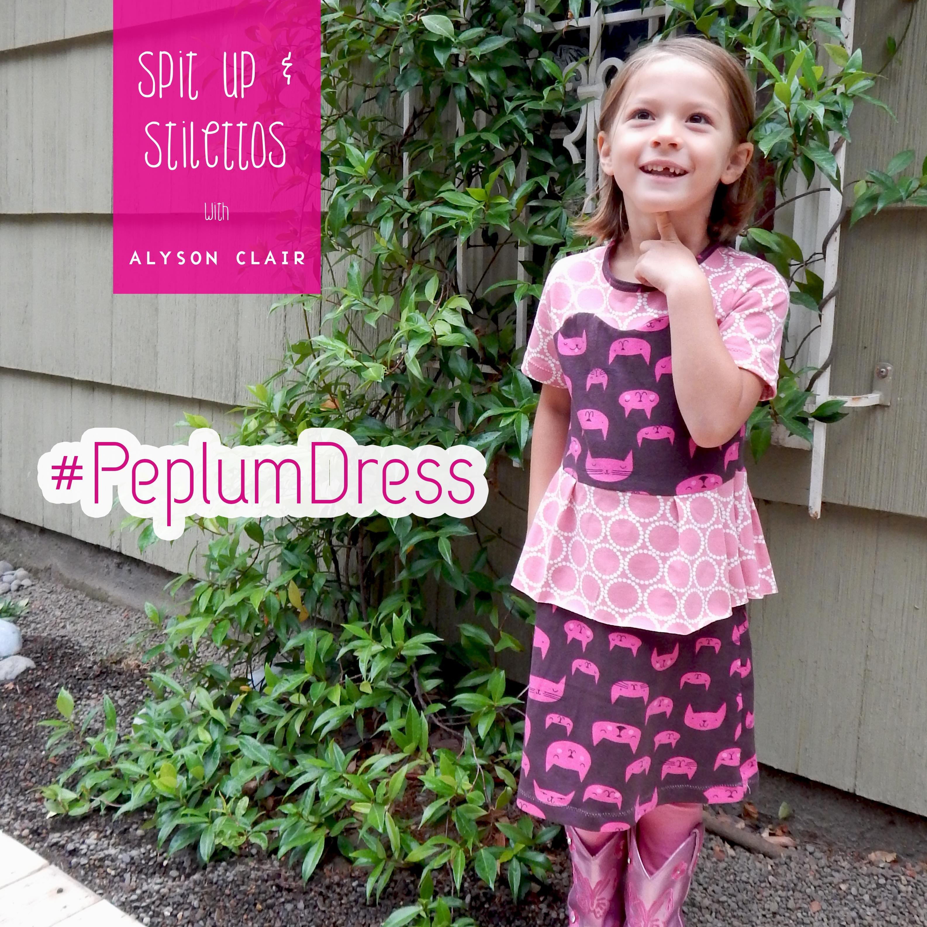 Peplum Dress 2