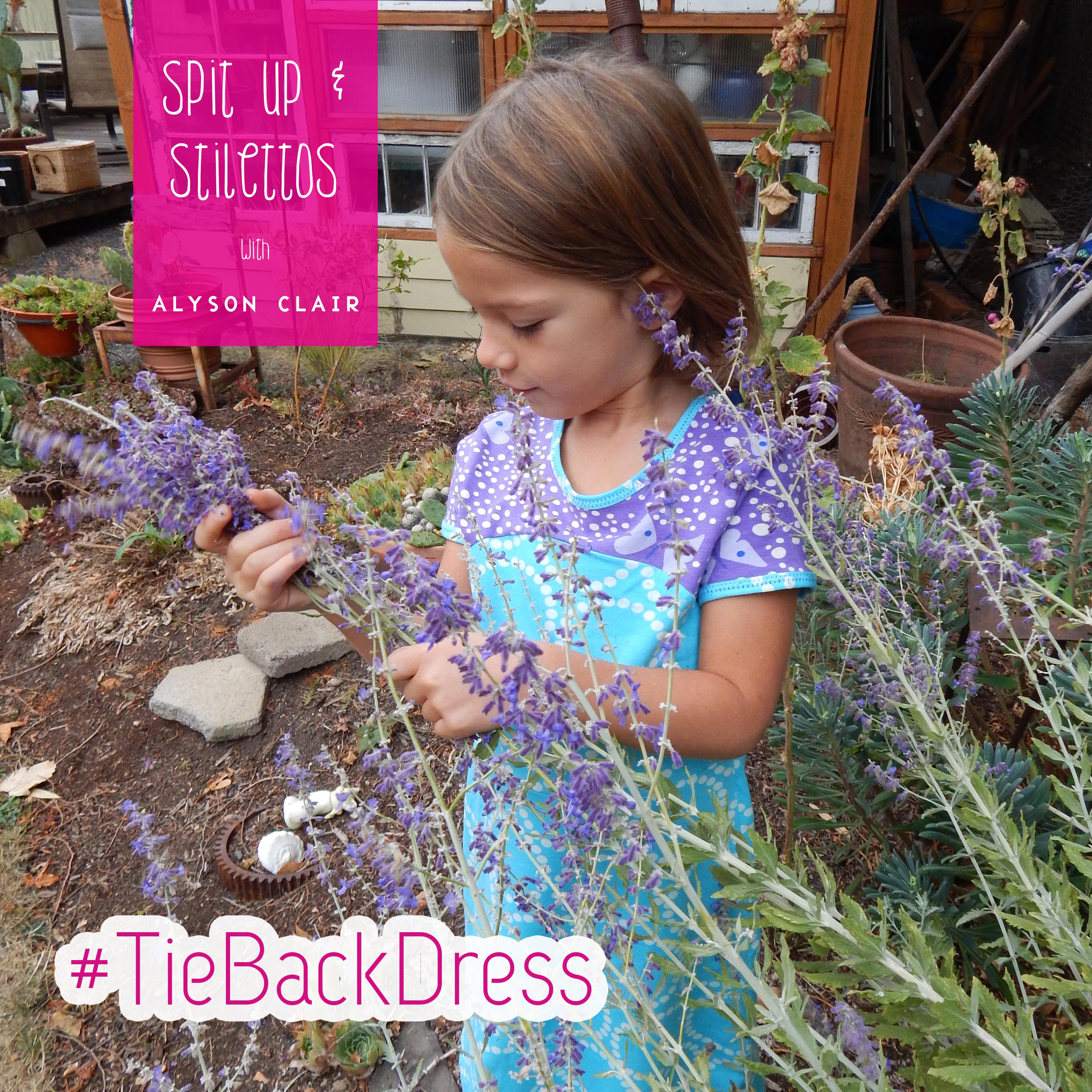 Tie Back Dress 1