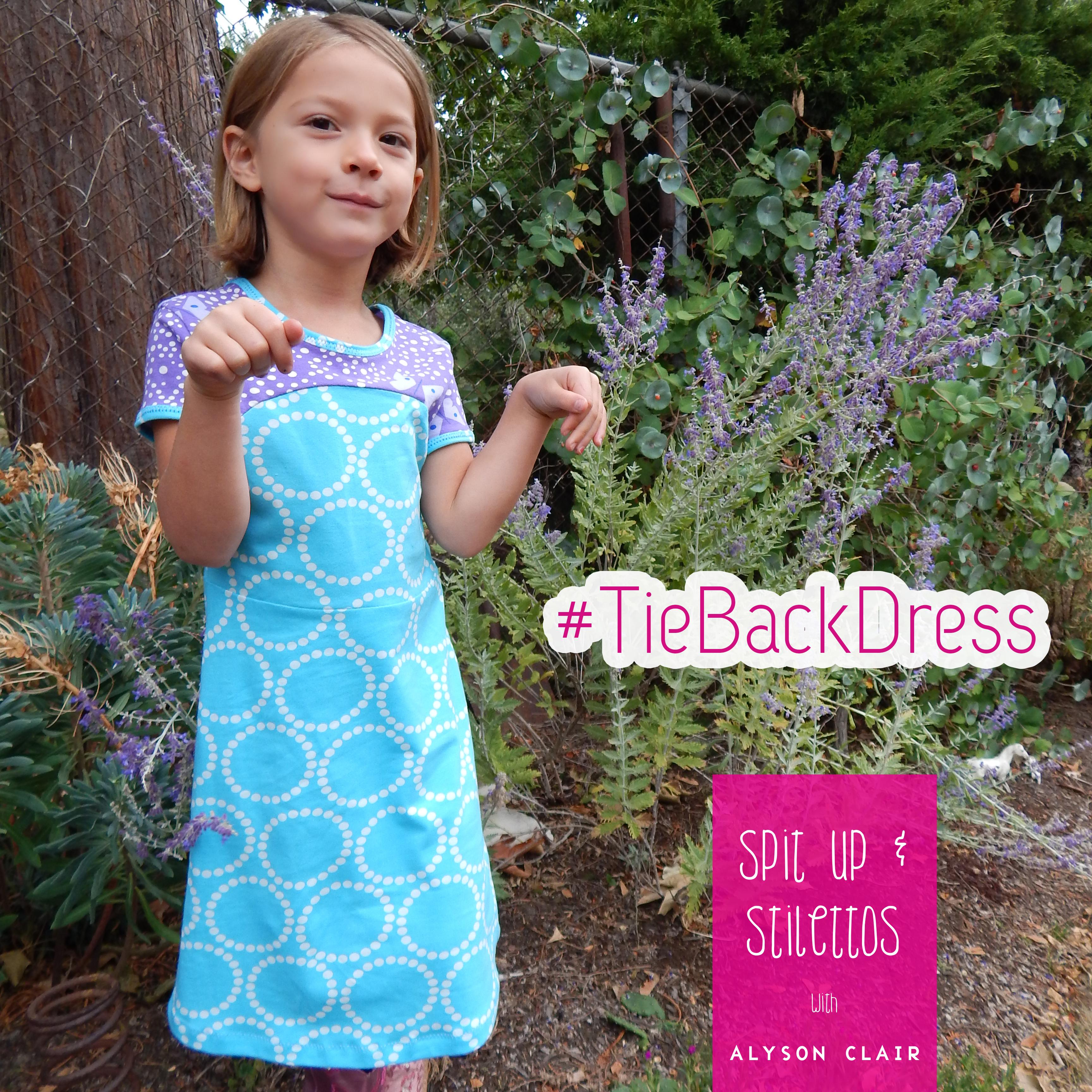 Tie Back Dress 2