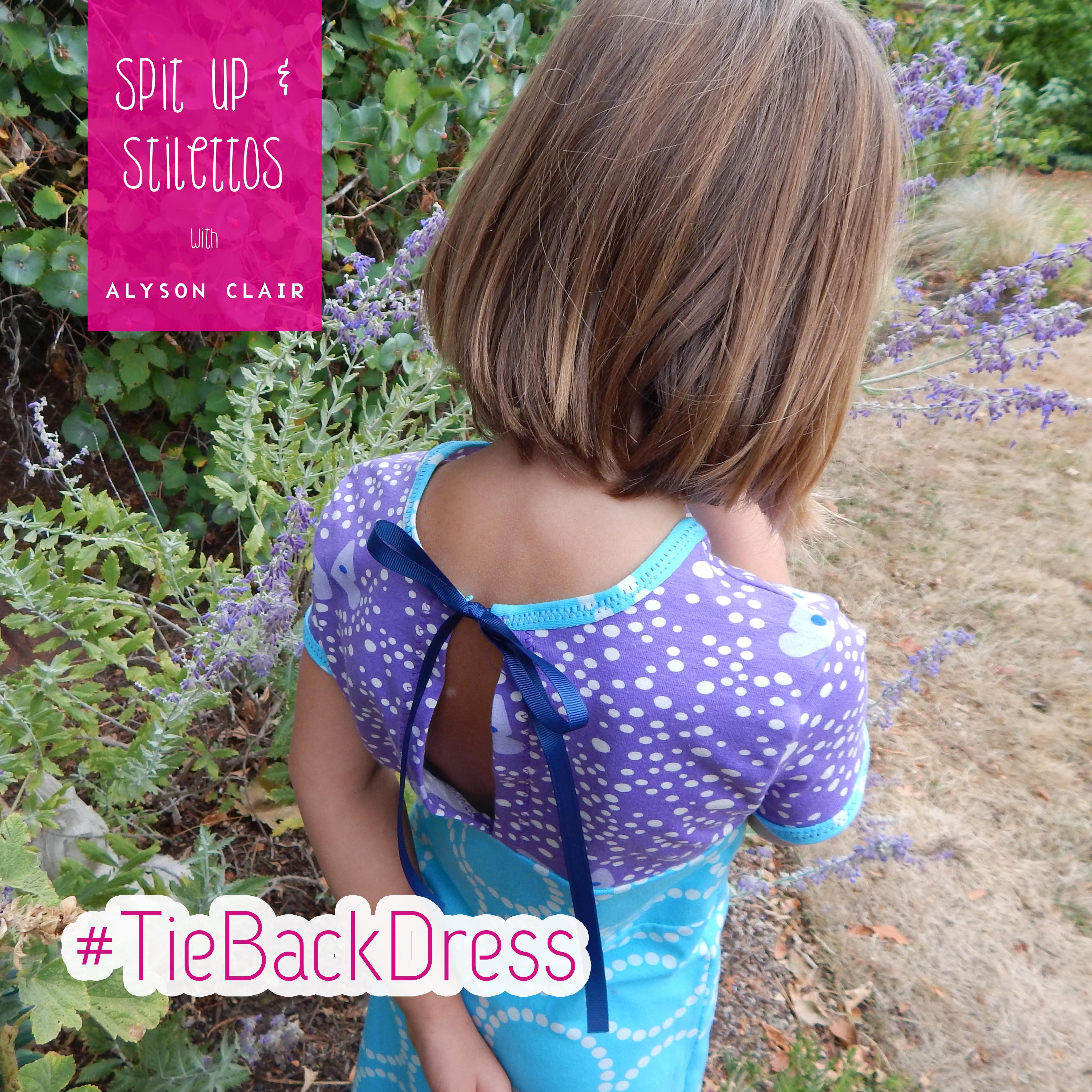 Tie Back Dress 3